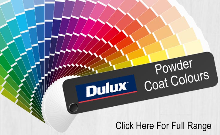 Dulux Powder Coat Colours