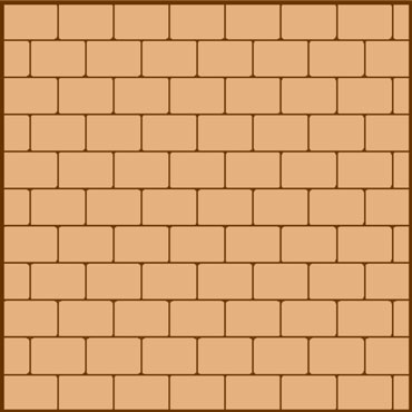 stretcher paving pattern
