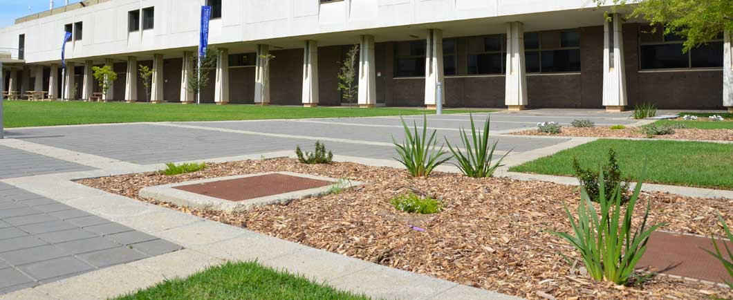Paving of university sa mawson lakes for Paving and landscaping adelaide