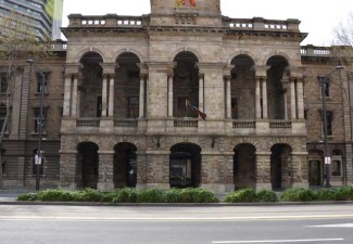 Commercial paving to Adelaide City Council Town Hall