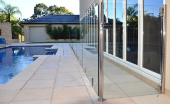 Glass Fencing Panels