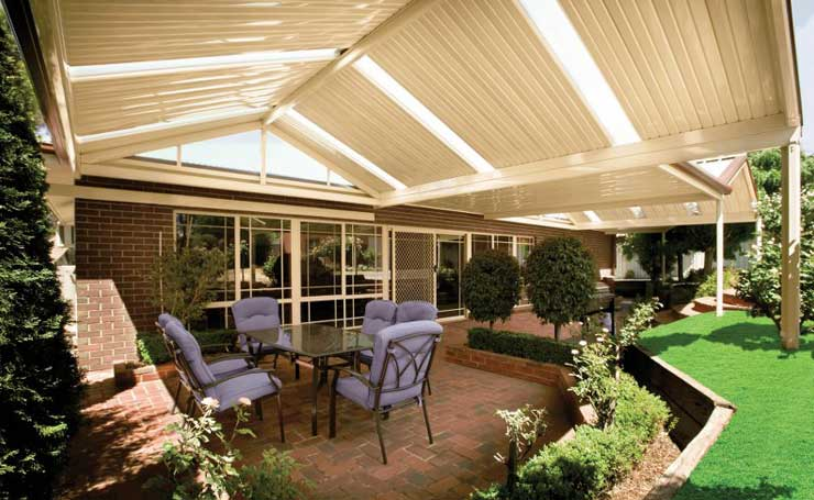 Verandahs Adelaide South Australia An Outdoor Living Area