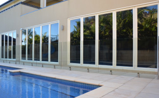Glass Panel Fence