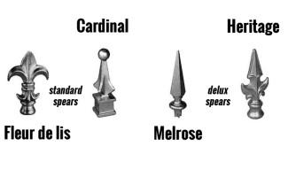 Decorative Spear Choices