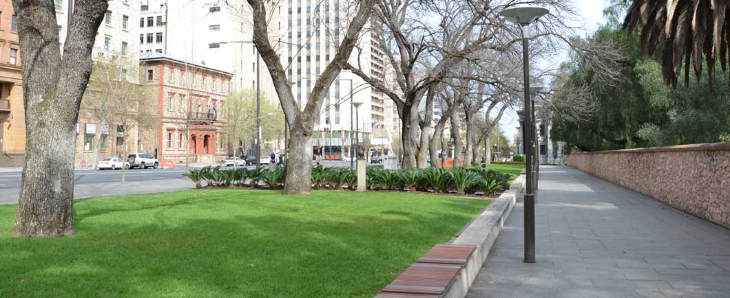 North tce adelaide redevelopment for Landscaping adelaide north