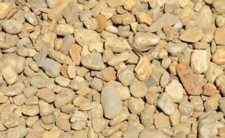 Salt Pepper River Pebbles Large