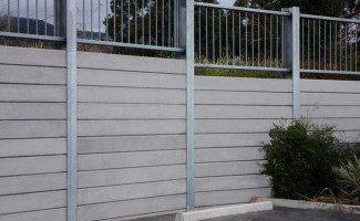 Concrete Sleeper Retaining Wall (Lonsdale)