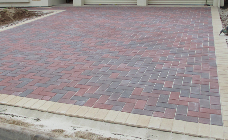 Driveway pavers adelaide with driveway paving pattern ideas for Pavers adelaide