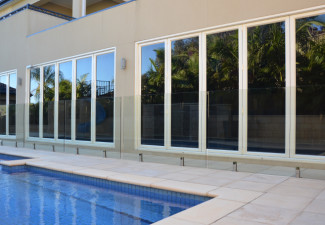Aluminium tubular fencing panels provide low cost fencing for Cheap landscaping adelaide