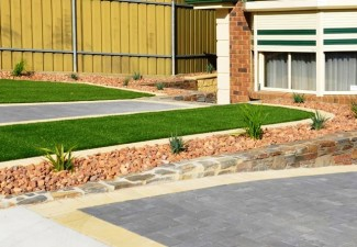 Low Maintenance Garden landscaping design