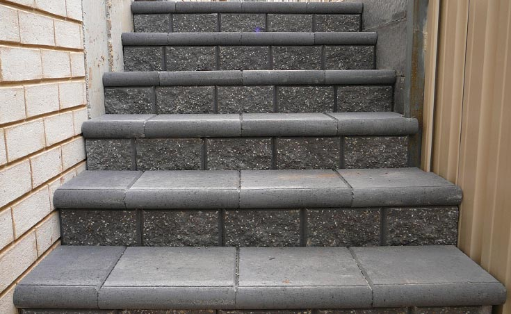 Pavers and steps