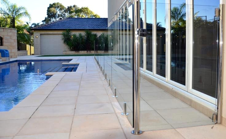 Frameless glass pool fencing adelaide specifications price for Swimming pool fencing regulations sa
