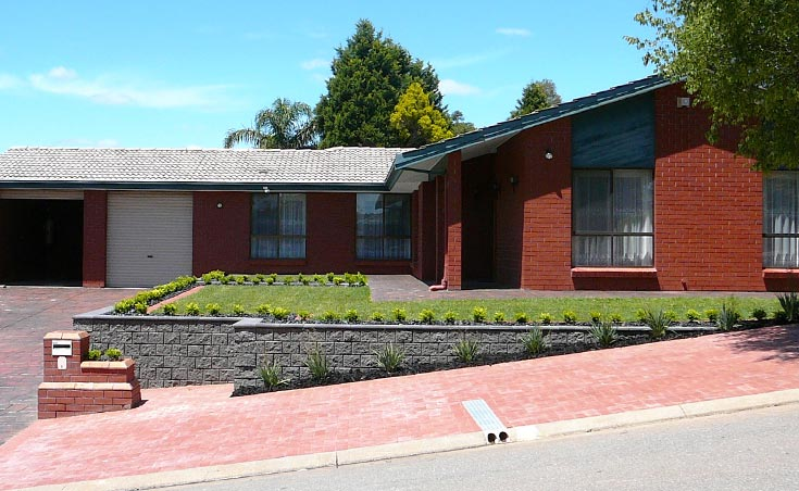 Landscaping Makeover Wynn Vale Front After