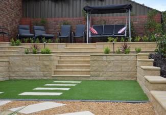 Semi Formal Low Maintenance Landscaping Wynn Vale