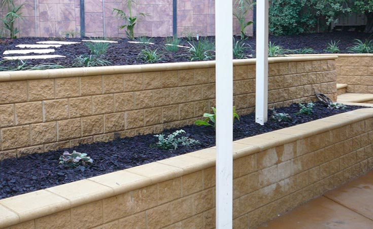 Retaining Wall Renovation Golden Grove