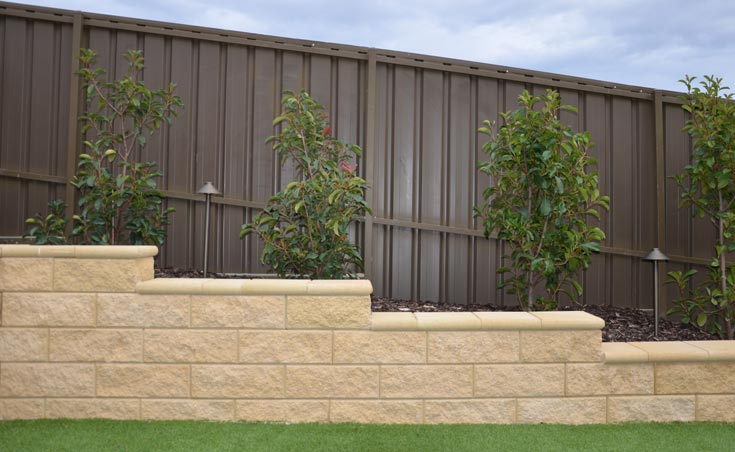 Concrete Block Retaining Walls Wynn Vale 1