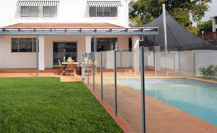 Semi Frameless Glass Pool Fencing Adelaide