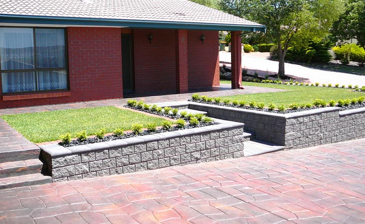 Landscaping Makeover Wynn Vale Side After