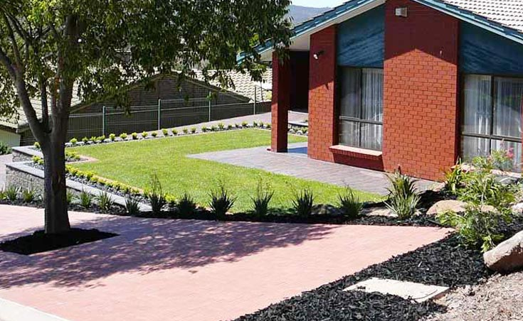 Retaining Sloping Gardens