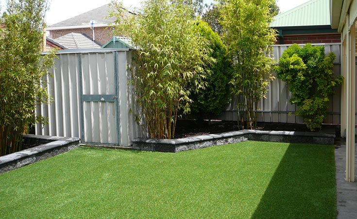 Landscaping ideas for courtyards courtyard landscaping for Courtyard home designs adelaide