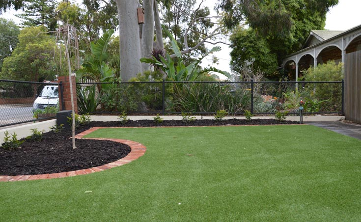 Low Maintenance Front Yard Landscaping St Peters