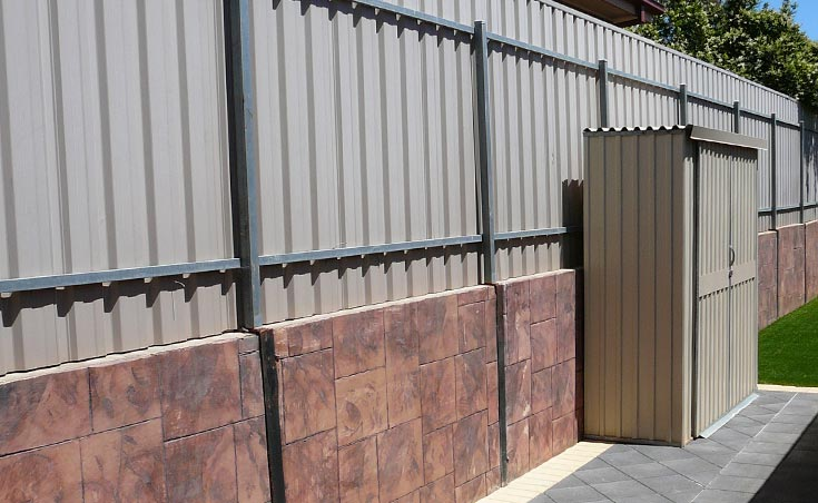 Post and rail fencing adelaide fence installers adelaide for Retaining wall contractors adelaide