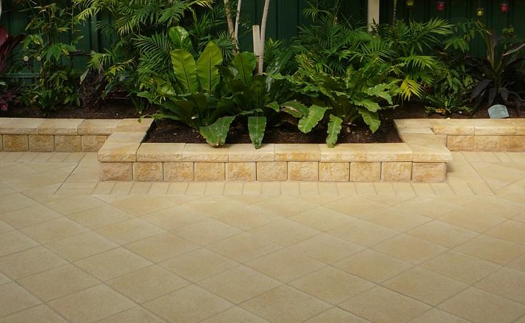 Concrete Block Retaining Walls Adelaide Design Examples
