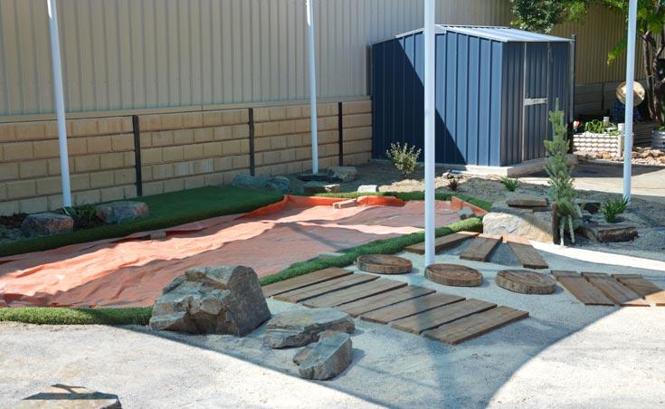 Sand Pit Construction