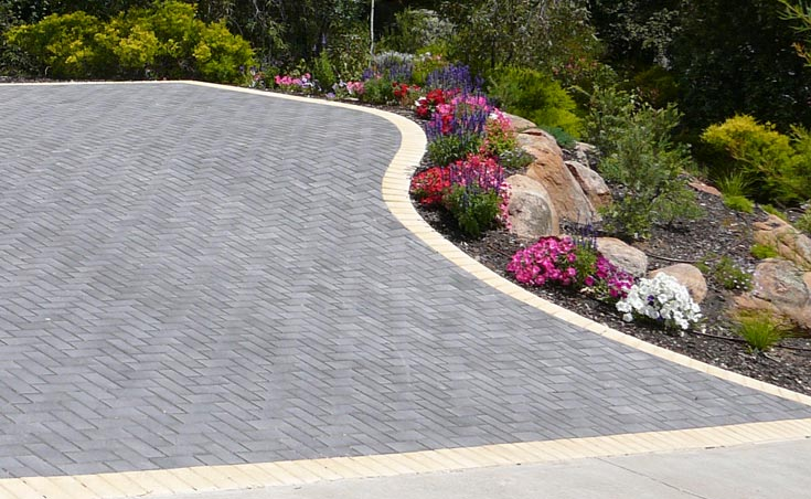 Driveway pavers adelaide driveway paving design ideas for Paving and landscaping adelaide