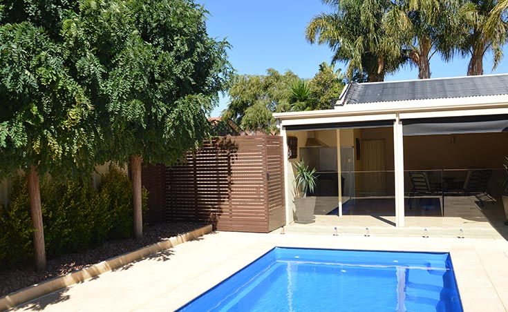 Pool Landscaping Adelaide Suburb Of Glengowrie