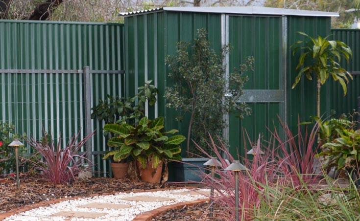 Garden tool sheds adelaide garden tool sheds installation for Paving and landscaping adelaide