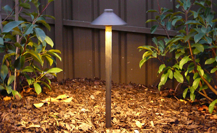 Garden Lighting With Garden Bollard Lights
