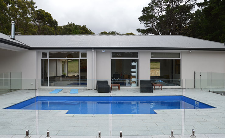 Glass Pool Fencing Adelaide | Residential Landscaping Adelaide
