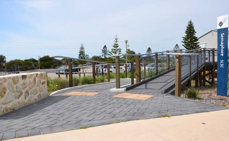 Commercial Landscaping Adelaide | Semaphore Foreshore